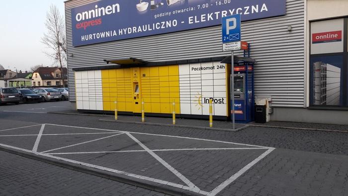 Paczkomat BBI07A Bielsko-Biała