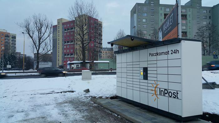 Paczkomat BBI09N Bielsko-Biała