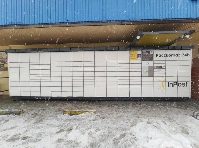 Paczkomat BBI11N Bielsko-Biała