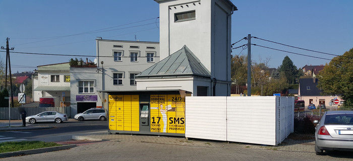 Paczkomat BBI450 Bielsko-Biała