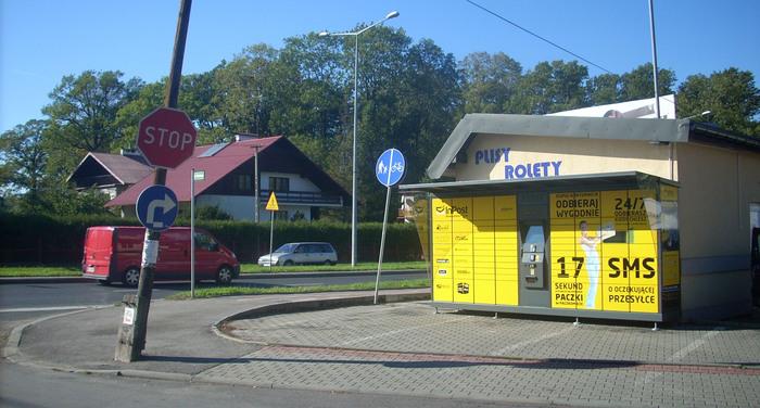 Paczkomat BBI843 Bielsko-Biała