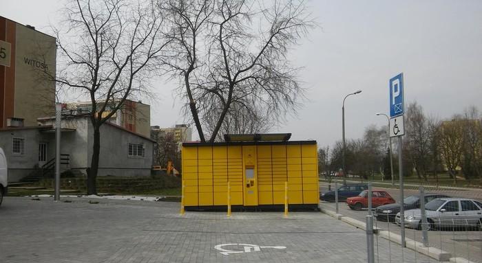 Paczkomat BIA09A Białystok