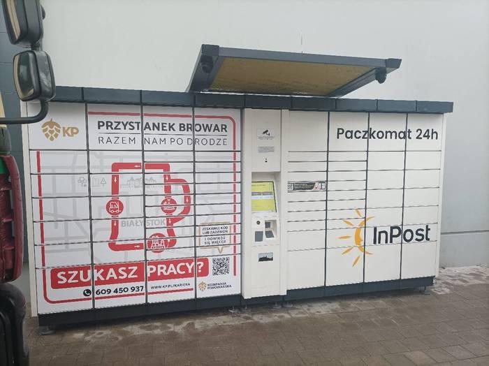 Paczkomat BIA13A Białystok