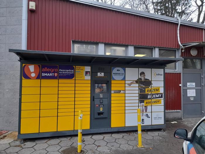 Paczkomat BIA555 Białystok