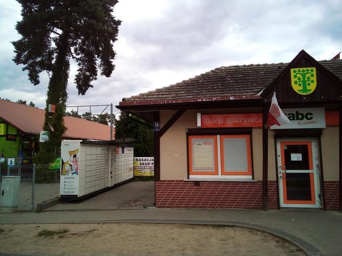 Paczkomat BOS01A Borne Sulinowo