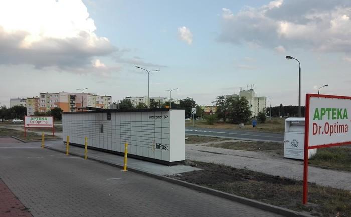 Paczkomat BYD04N Bydgoszcz