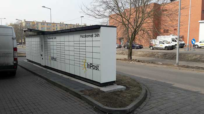Paczkomat BYD21A Bydgoszcz