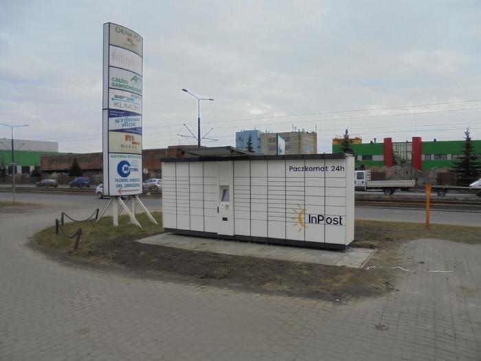 Paczkomat BYD26A Bydgoszcz