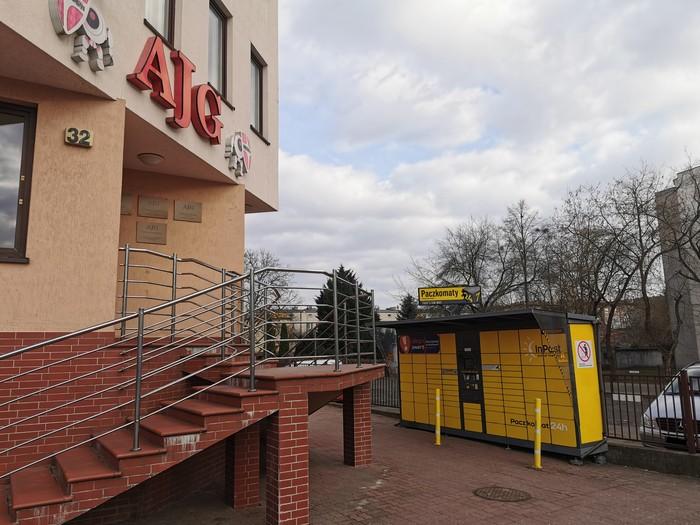 Paczkomat BYD301 Bydgoszcz