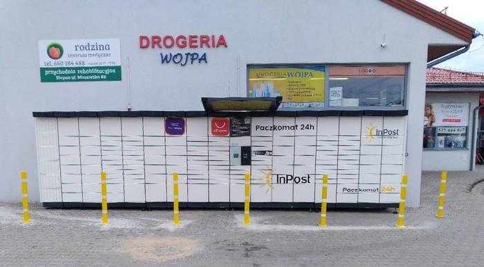 Paczkomat CDK01N Chodkowo-Działki