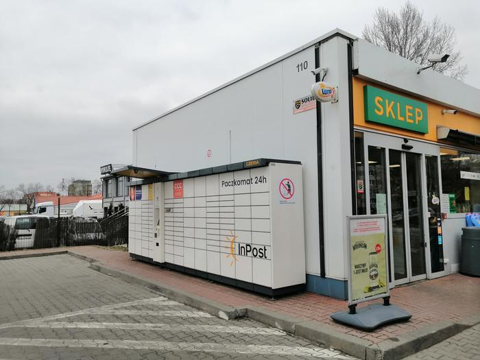 Paczkomat CZE10A Częstochowa