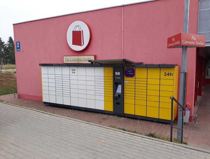 Paczkomat GDA01A Gdańsk