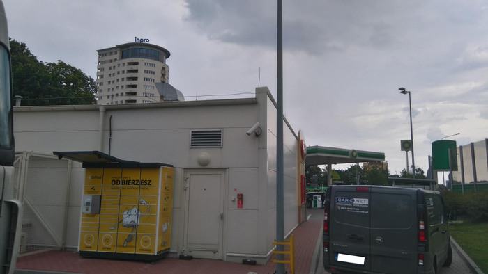 Paczkomat GDA01N Gdańsk