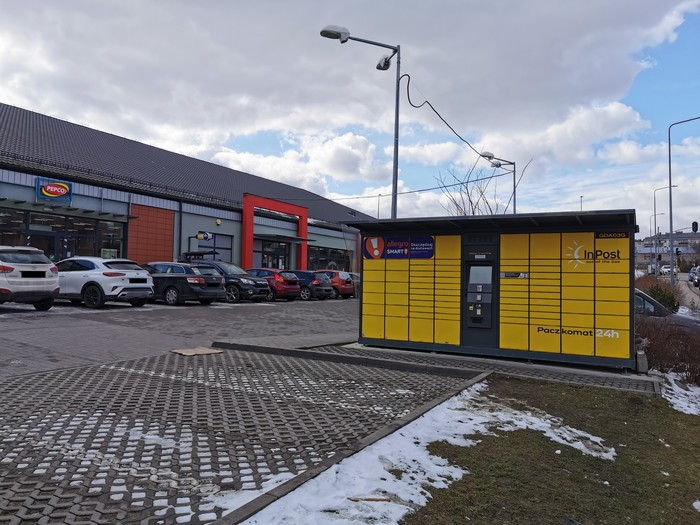 Paczkomat GDA03G Gdańsk