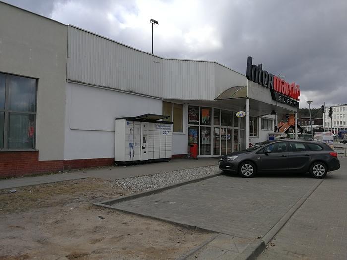 Paczkomat GDA03L Gdańsk