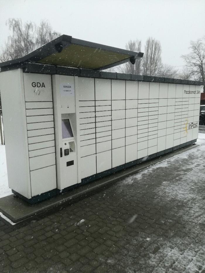 Paczkomat GDA22A Gdańsk