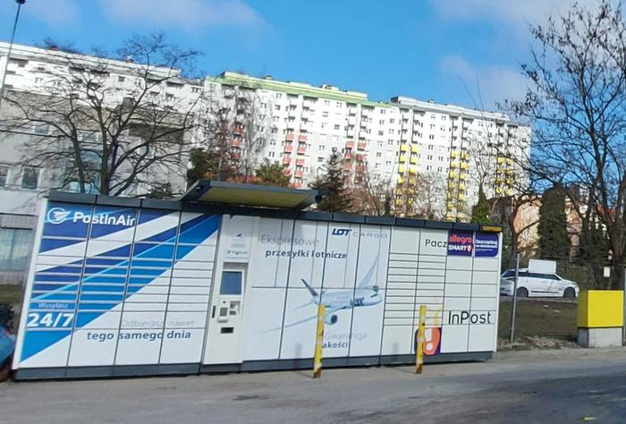 Paczkomat GDY02B Gdynia