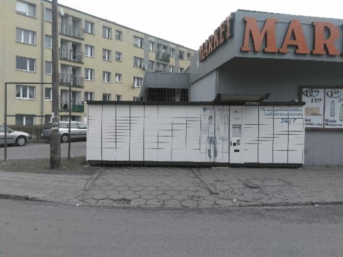 Paczkomat GDY03L Gdynia