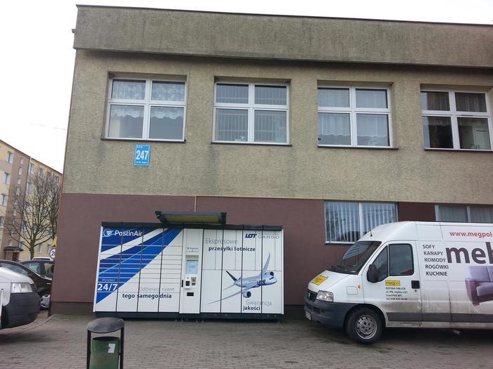 Paczkomat GDY04B Gdynia