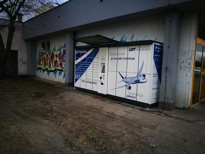 Paczkomat GDY08B Gdynia