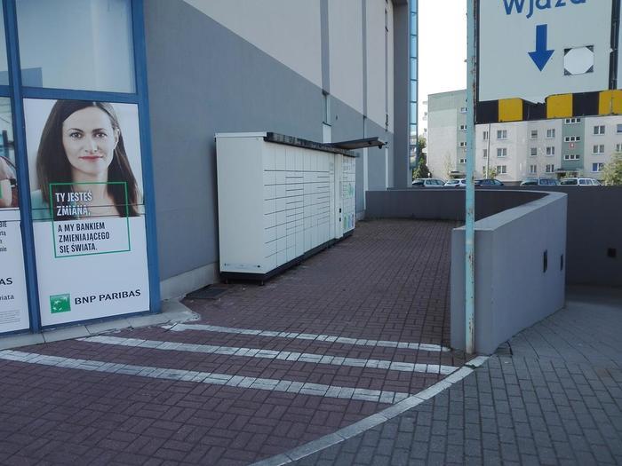 Paczkomat GWI05ML Gorzów Wielkopolski