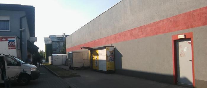 Paczkomat JLS01A Jelcz-Laskowice