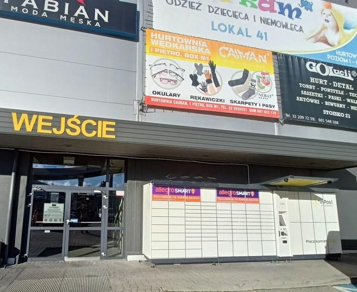 Paczkomat KAT03B Katowice
