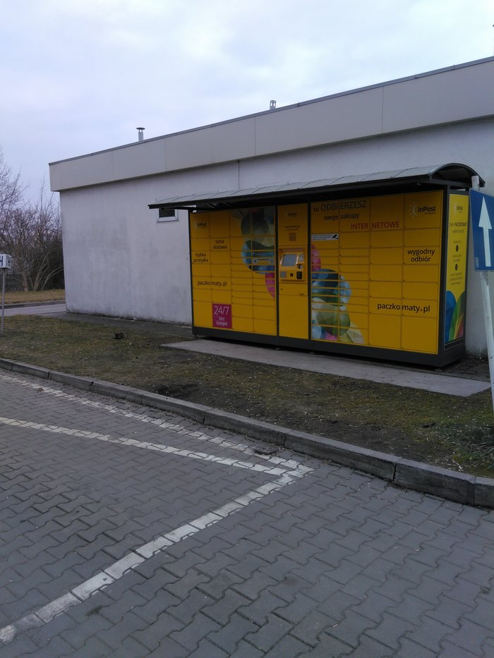 Paczkomat KIE01C Kielce