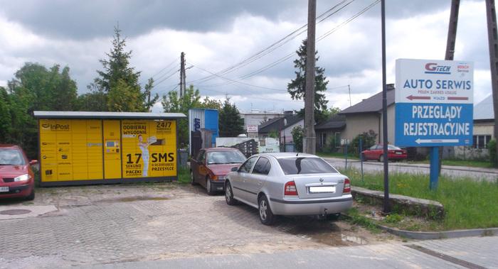 Paczkomat KIE101 Kielce