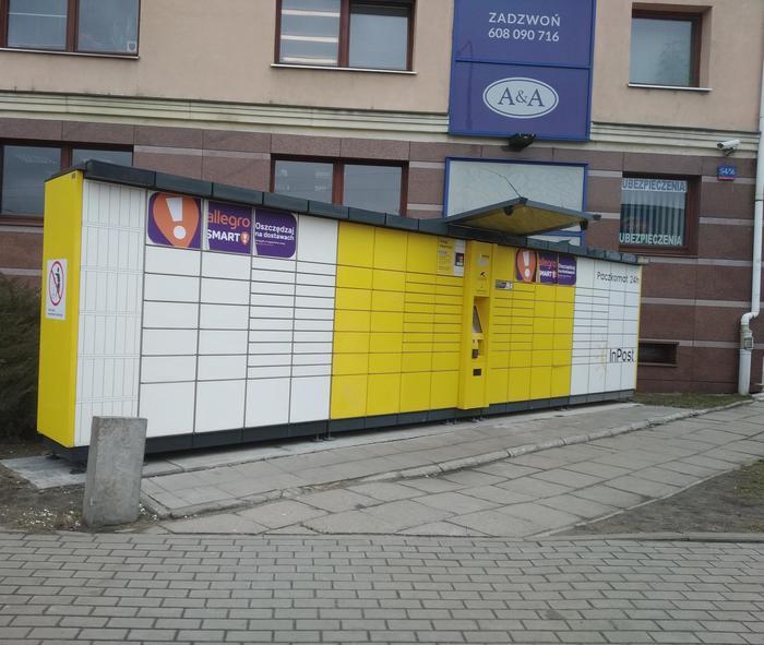 Automaty Paczkowe